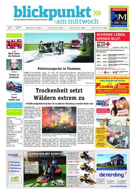 Blickpunkt Nienburg am Mittwoch vom 24.04.2019