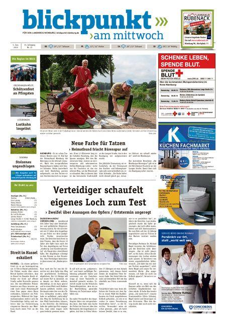 Blickpunkt Nienburg am Mittwoch vom 05.06.2019