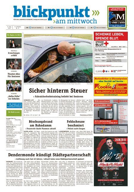 Blickpunkt Nienburg am Mittwoch vom 14.08.2019