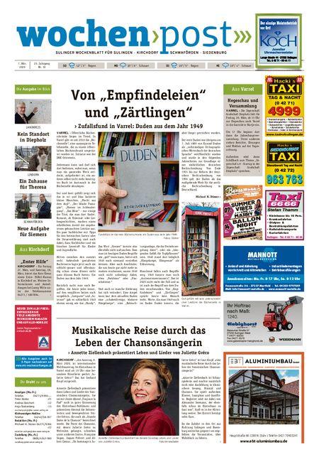 Die Wochenpost vom 07.03.2020