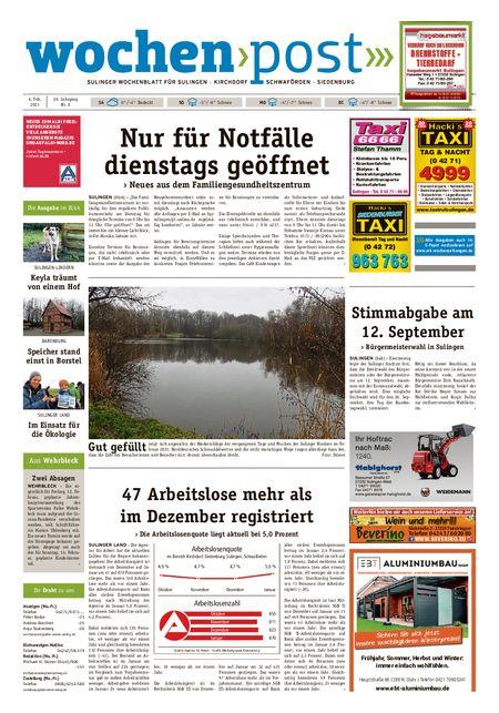 Die Wochenpost vom 06.02.2021
