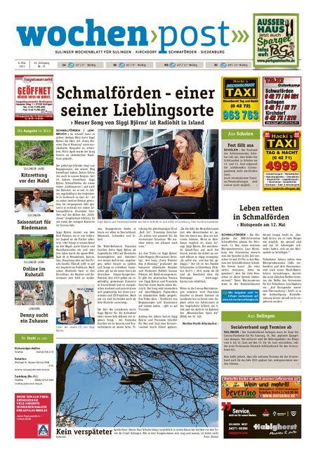 Die Wochenpost vom 08.05.2021