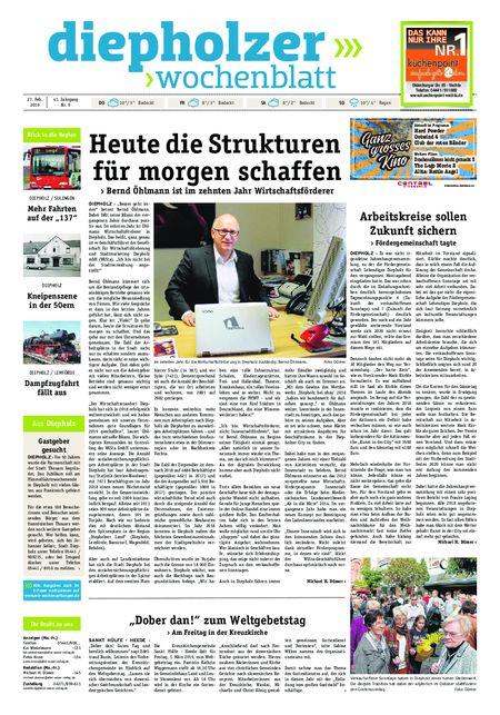 Diepholzer Wochenblatt vom 27.02.2019