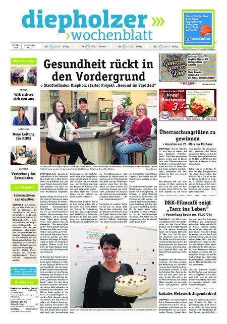 Diepholzer Wochenblatt vom 20.03.2019