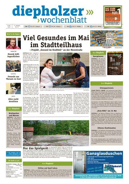 Diepholzer Wochenblatt vom 08.05.2019