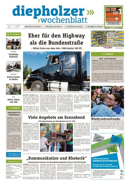 Diepholzer Wochenblatt vom 05.06.2019