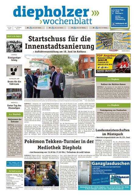 Diepholzer Wochenblatt vom 12.06.2019