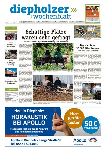 Diepholzer Wochenblatt vom 03.07.2019