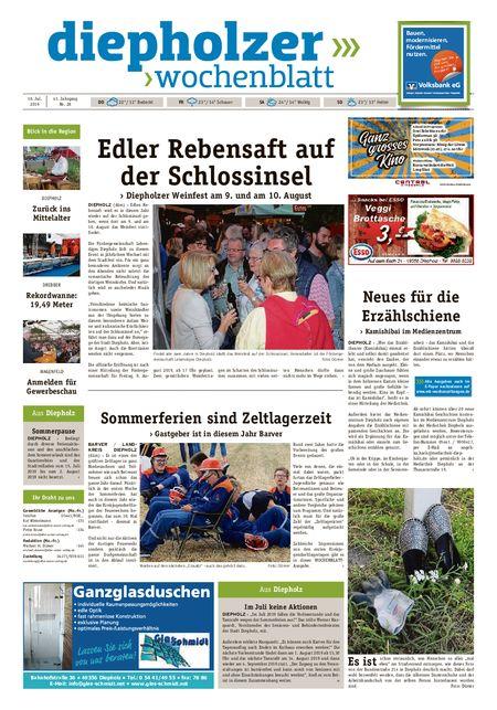 Diepholzer Wochenblatt vom 10.07.2019