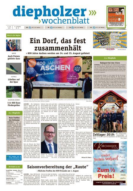 Diepholzer Wochenblatt vom 17.07.2019