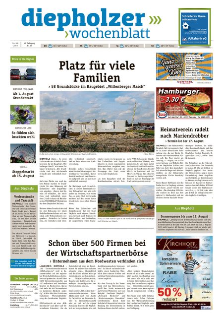 Diepholzer Wochenblatt vom 24.07.2019