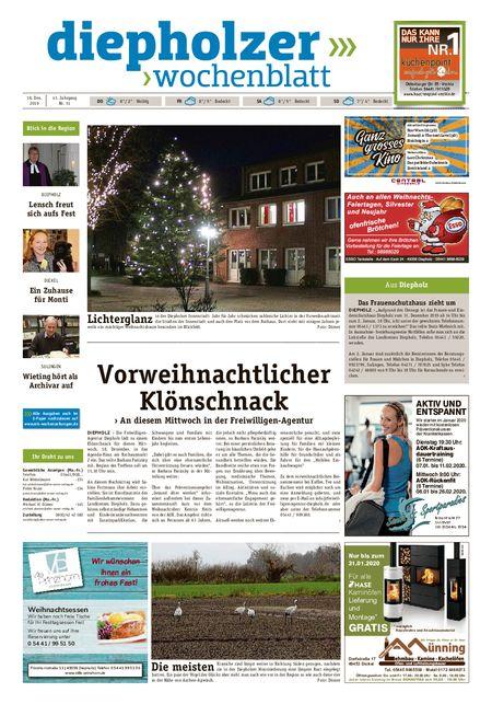 Diepholzer Wochenblatt vom 18.12.2019