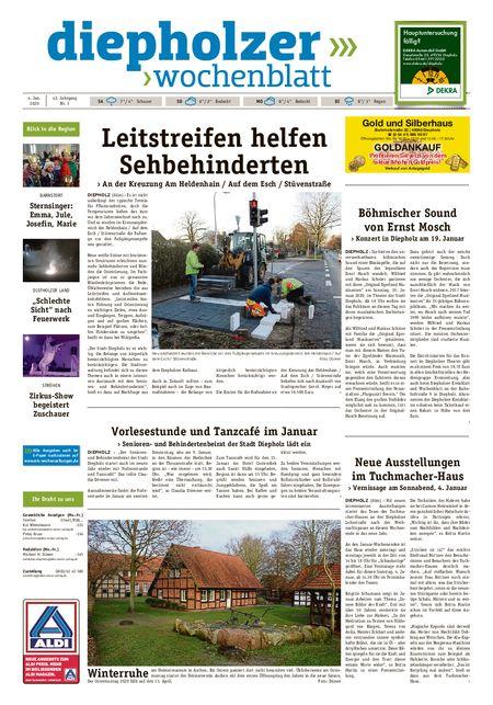 Diepholzer Wochenblatt vom 04.01.2020