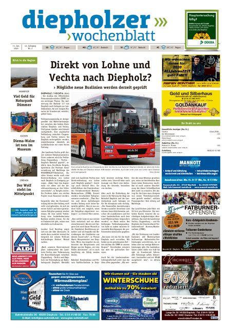 Diepholzer Wochenblatt vom 11.01.2020
