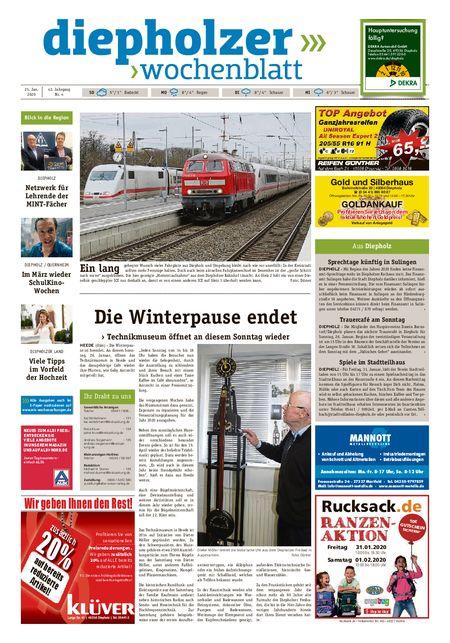 Diepholzer Wochenblatt vom 25.01.2020