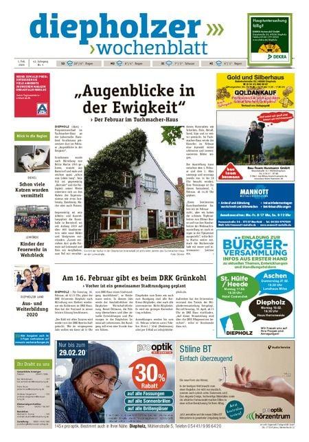 Diepholzer Wochenblatt vom 01.02.2020