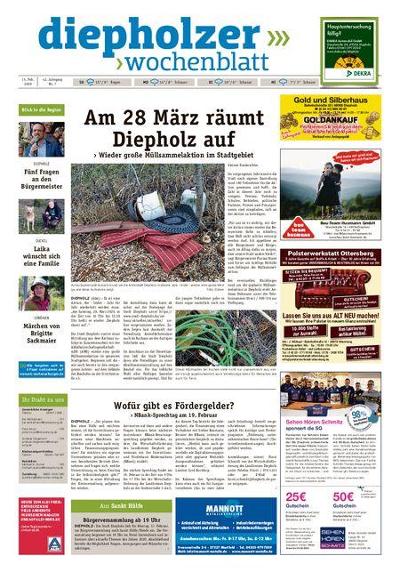Diepholzer Wochenblatt vom 15.02.2020