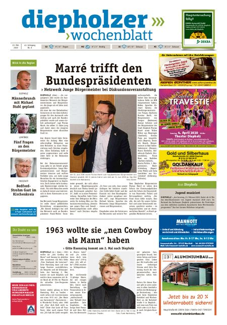 Diepholzer Wochenblatt vom 22.02.2020