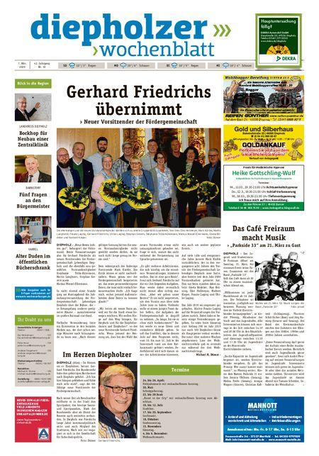 Diepholzer Wochenblatt vom 07.03.2020