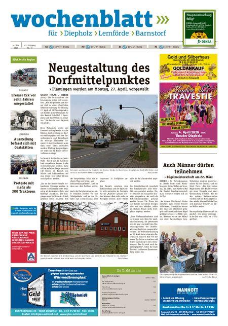 Diepholzer Wochenblatt vom 14.03.2020