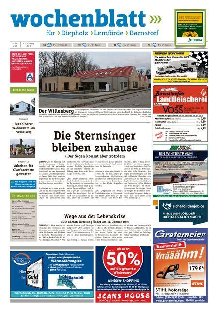 Diepholzer Wochenblatt vom 09.01.2021