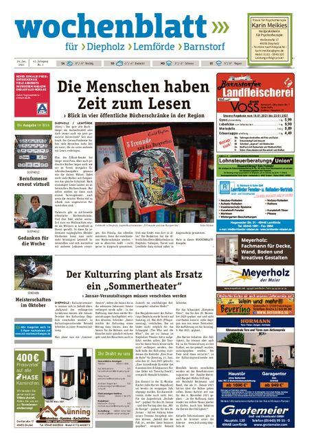 Diepholzer Wochenblatt vom 16.01.2021