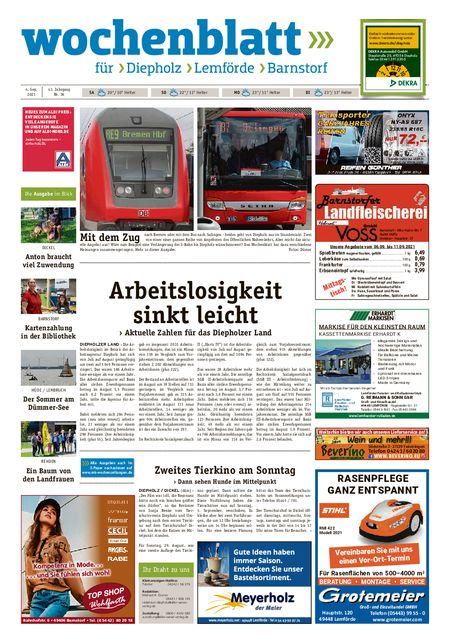 Diepholzer Wochenblatt vom 04.09.2021