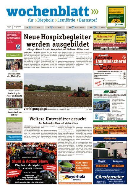 Diepholzer Wochenblatt vom 16.10.2021