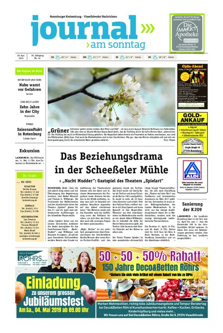Journal am Sonntag vom 20.04.2019