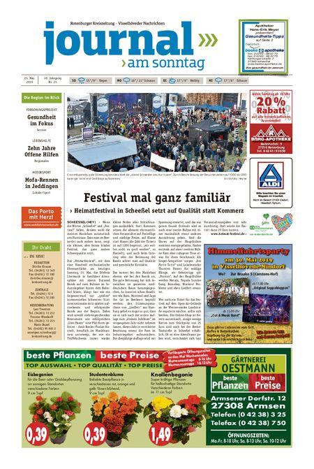 Journal am Sonntag vom 25.05.2019