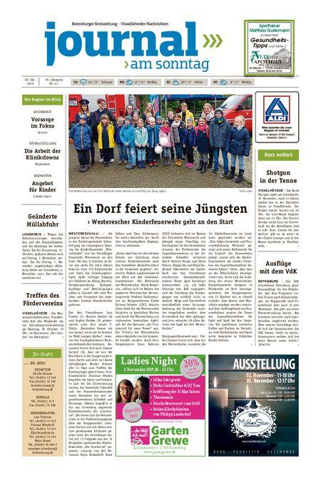 Journal am Sonntag vom 26.10.2019