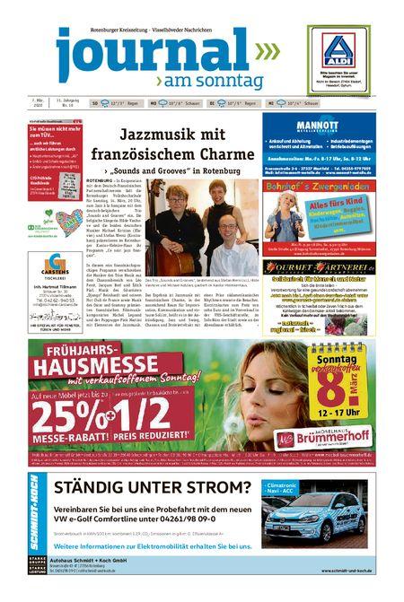 Journal am Sonntag vom 07.03.2020