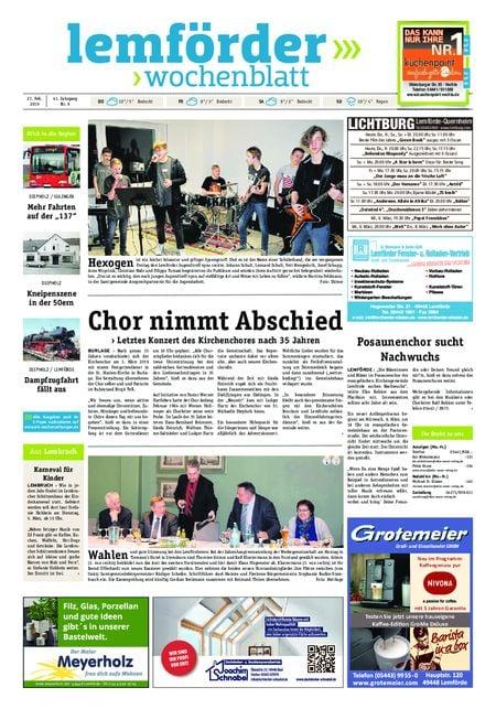 Lemförder Wochenblatt vom 27.02.2019