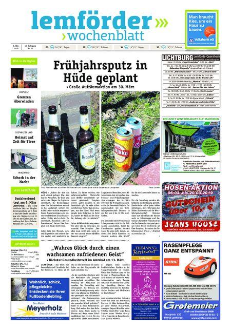 Lemförder Wochenblatt vom 06.03.2019
