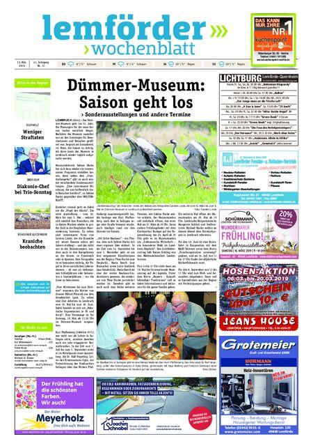 Lemförder Wochenblatt vom 13.03.2019