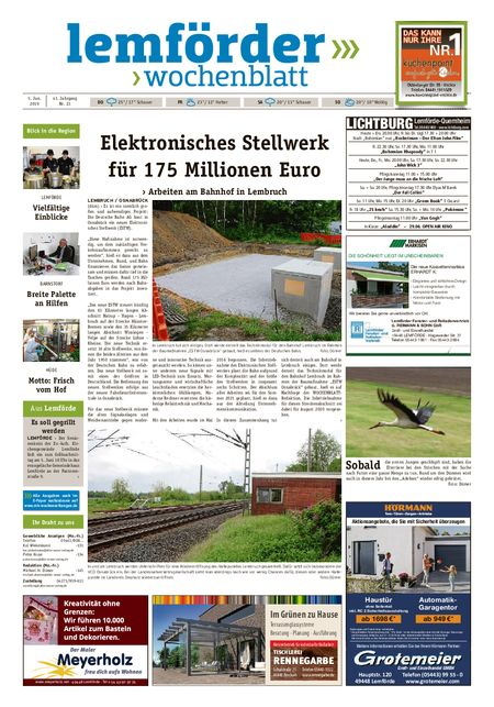 Lemförder Wochenblatt vom 05.06.2019
