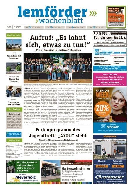 Lemförder Wochenblatt vom 19.06.2019