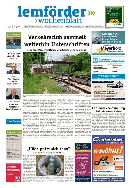 Lemförder Wochenblatt vom 08.02.2020