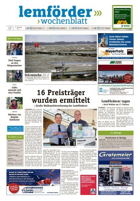 Lemförder Wochenblatt vom 15.02.2020