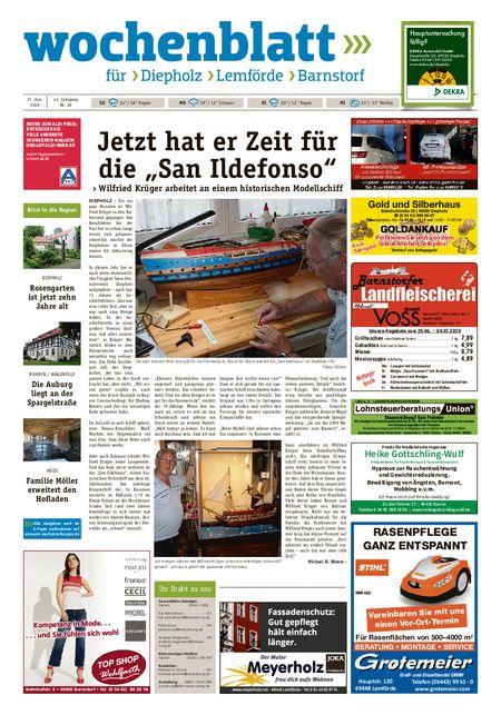 Lemförder Wochenblatt vom 27.06.2020