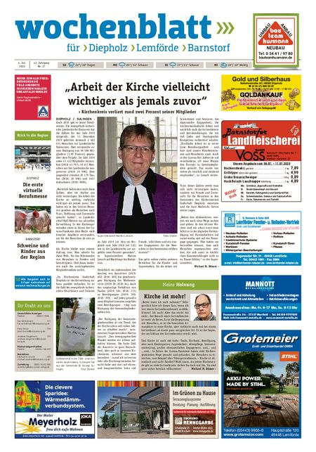 Lemförder Wochenblatt vom 04.07.2020