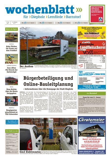 Lemförder Wochenblatt vom 02.01.2021