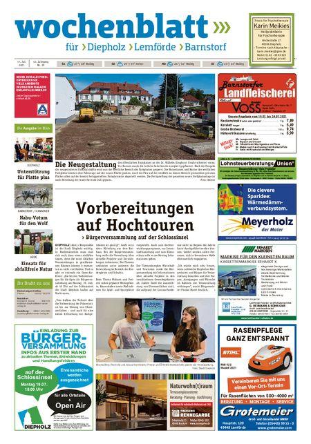 Lemförder Wochenblatt vom 17.07.2021