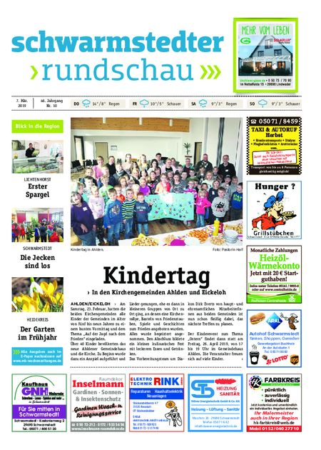 Schwarmstedter Rundschau vom 07.03.2019