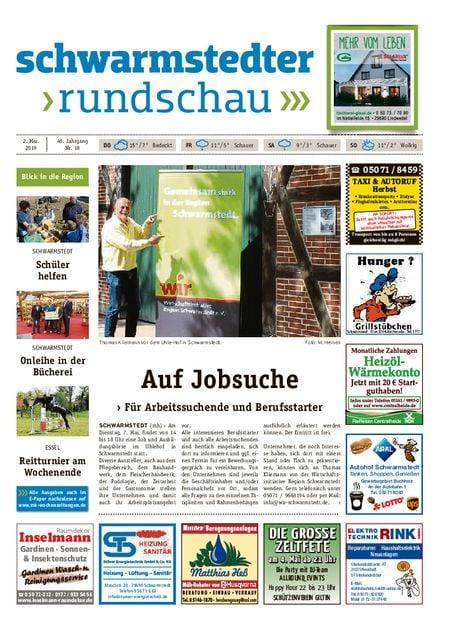 Schwarmstedter Rundschau vom 02.05.2019