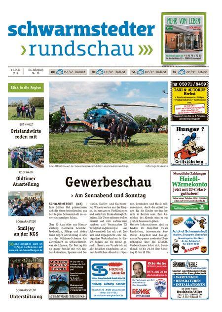 Schwarmstedter Rundschau vom 16.05.2019