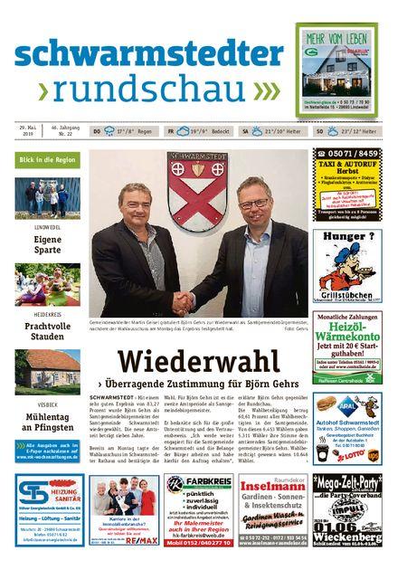 Schwarmstedter Rundschau vom 29.05.2019