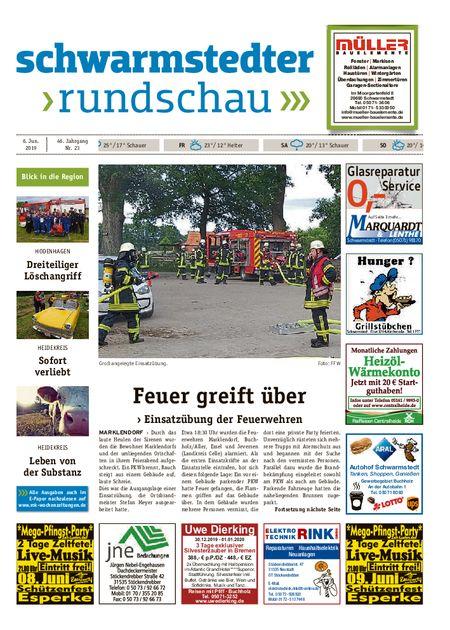 Schwarmstedter Rundschau vom 06.06.2019