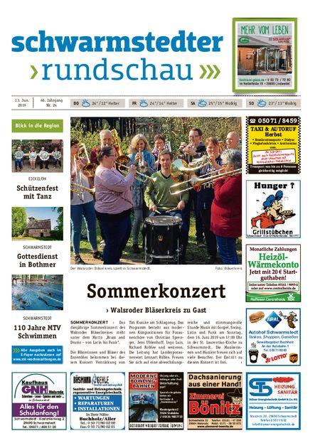Schwarmstedter Rundschau vom 13.06.2019