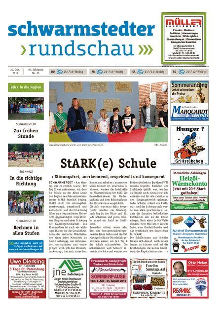 Schwarmstedter Rundschau vom 20.06.2019